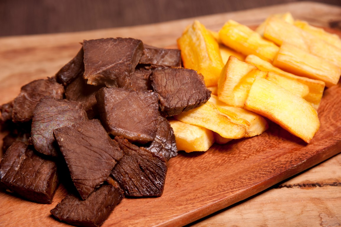 Carne-de-sol-com-mandioca