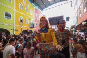 Bonecões agitam o Carnaval do CTN