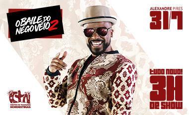 Banner do Show do Baile do negô véio 2 em dia 31 de Julho de 2020