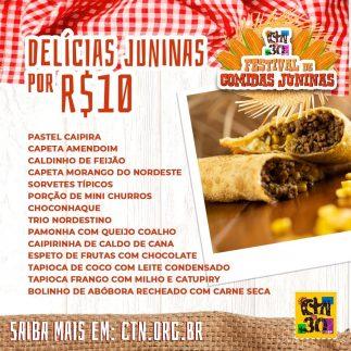 Lista de comidas até 10 reais