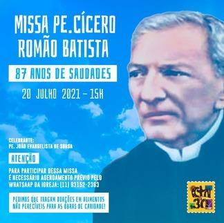 Missa do Padre Cícero no CTN